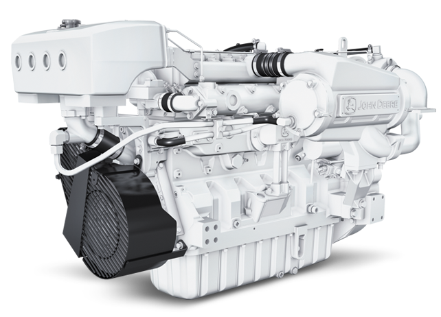 Marine Diesel Engines For Sales- John Deere, Cummins Marine
