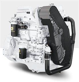 John Deere Marine Engine 4045DFM50 - Marine diesel engines