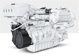John Deere Marine Diesel Engine 6090A - Marine diesel engines
