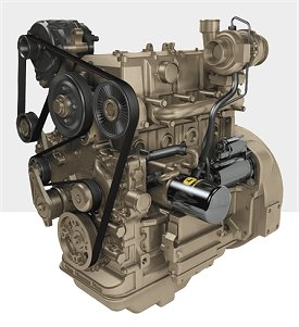 John Deere Industrial Diesel Engine 4024H - Diesel powered generators