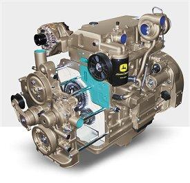 John Deere Industrial Diesel Engine 5030H - Diesel powered generators